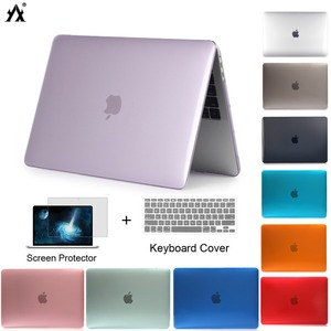 Laptop Case For Apple macbook Air Pro Retina 11 13 15 Touch Bar/ID for macbook New Air A1932 A2179 2020-2018 Case Keyboard Cover(China)