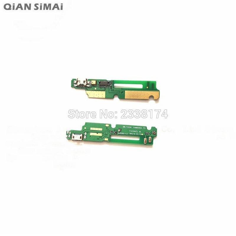 c998ba0e045 QiAN SiMAi Para Gionee GN5001 V187 New USB de Carregamento do Carregador  Flex Cabo Com Microfone De Peças de Reparo