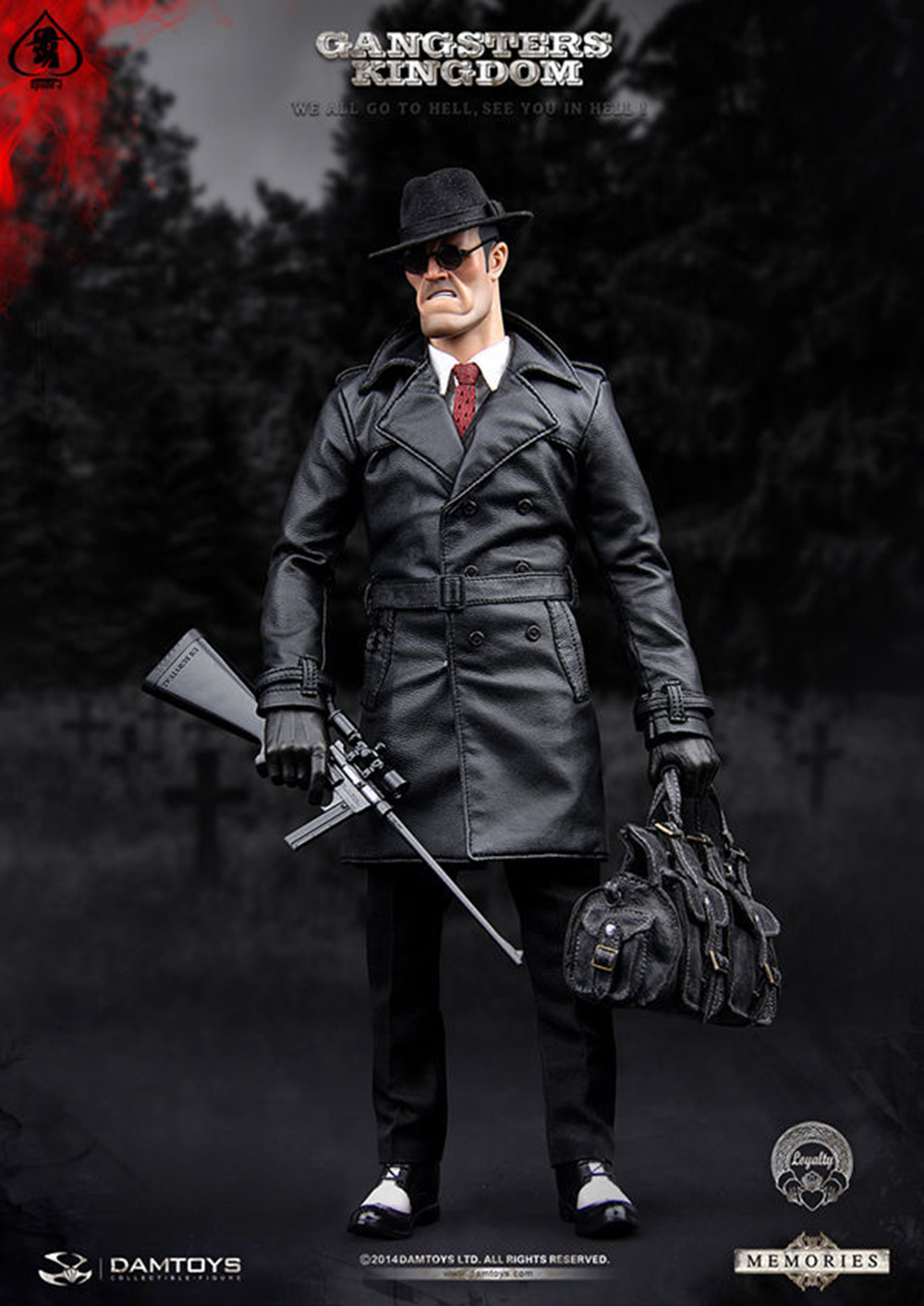 For collection DAMTOYS GK001MX 1/6 Gang's kingdom Spade J Memories Ver. Male Action Figure Collectible doll toys full set 1