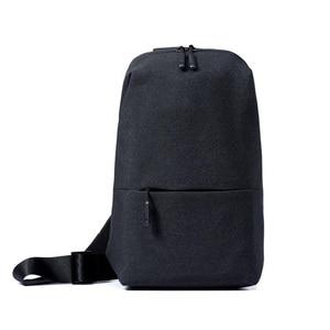 Image 1 - Original Xiaomi Backpack urban leisure chest pack For Men Women Shoulder Type Unisex Rucksack for camera DVD phones Travel bag
