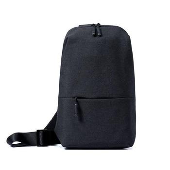 Original Xiaomi Backpack urban leisure chest pack For Men Women Shoulder Type Unisex Rucksack for camera DVD phones Travel bag Video Games Bags