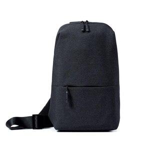 Image 1 - Original Xiaomi Rucksack städtischen freizeit brust pack Für Männer Frauen Schulter Typ Unisex Rucksack für kamera DVD handys reisetasche