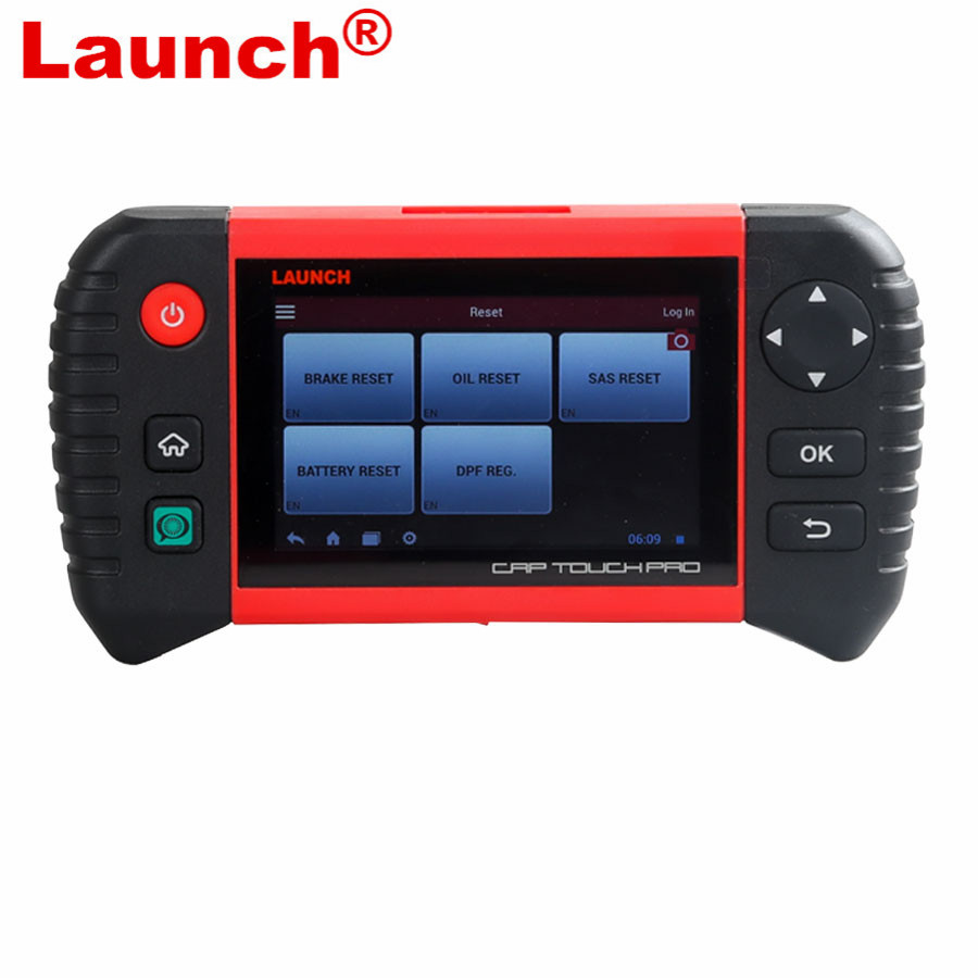 Launch Creader CRP Touch Pro 5.0 Android Touch Screen Full System Diagnostic Service Reset Tool i
