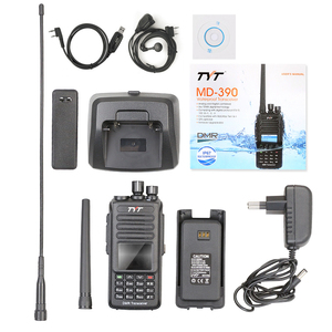 Image 5 - 100% Brand New Original TYT Waterproof IP 67 UHF 400 480MHZ 5W DMR Portable FM Transceiver with Cable and Software