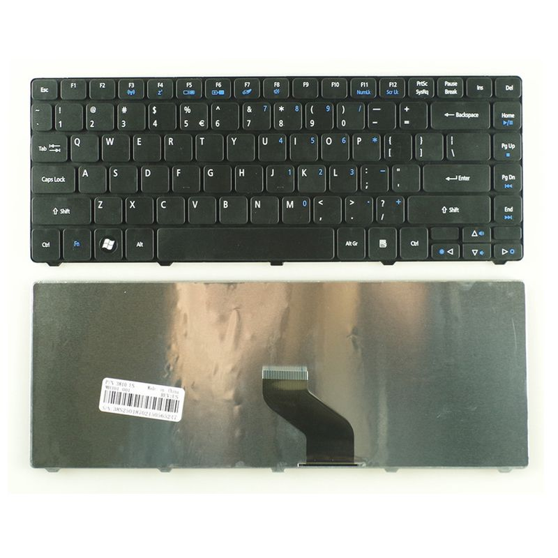 YALUZU US Black New laptop keyboard For <font><b>Acer</b></font> 4738ZG 3810TG 3810T <font><b>4736</b></font> 4736zG 4736G For Aspire 4750G 4743G 4752 4752G MS2347 new image