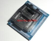 무료 배송 qfp64 tqfp64 lqfp64 소켓 어댑터 ic 테스트 소켓 레코딩 0.5 m 프로그래머 qfp64 좌석