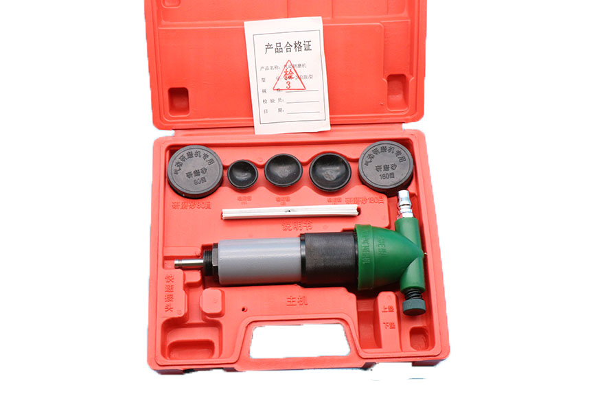 High Grade Pneumatic Valve Grinding Tool Machine for Car Engine Repair with Box