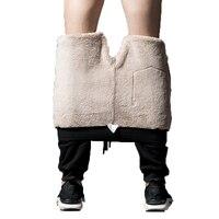 mens joggers pants 2018 men sweatpants Cotton Heavyweight Harem Pants streetwear thicken fleece winter warm trousers male L 8XL