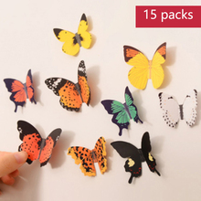 3d Simulation Butterfly Wall Sticker Bedroom Living Room  Refrigerator Stickers Decoration Art Poster Classic Butte