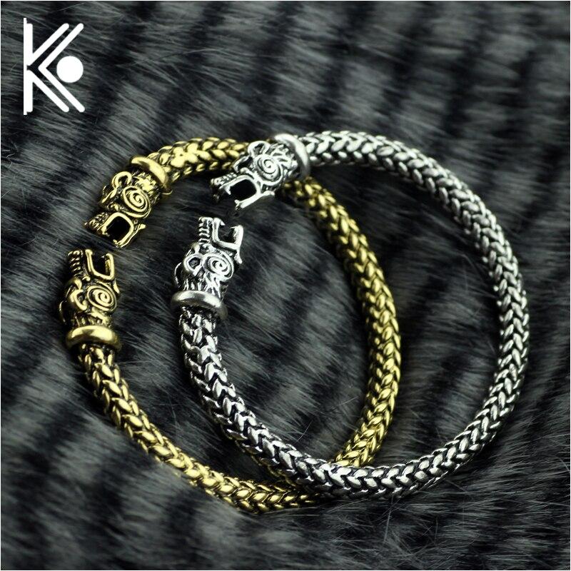 Die Wikinger Wolf Armbänder Für Frauen Mode Männlichen Zubehör Viking Armband Männer Armband Manschette Armbänder Armreifen Teen Wolf