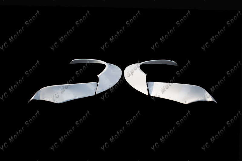 2011-2013 VW Scirocco R Karztrec Style Front Over Fender Flare FRP (3)