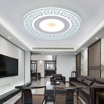 modern led ceiling lights for Indoor lighting stropy plafon roof mounted tavana for living room ceiling lamp lamparas de teto luces led para salas