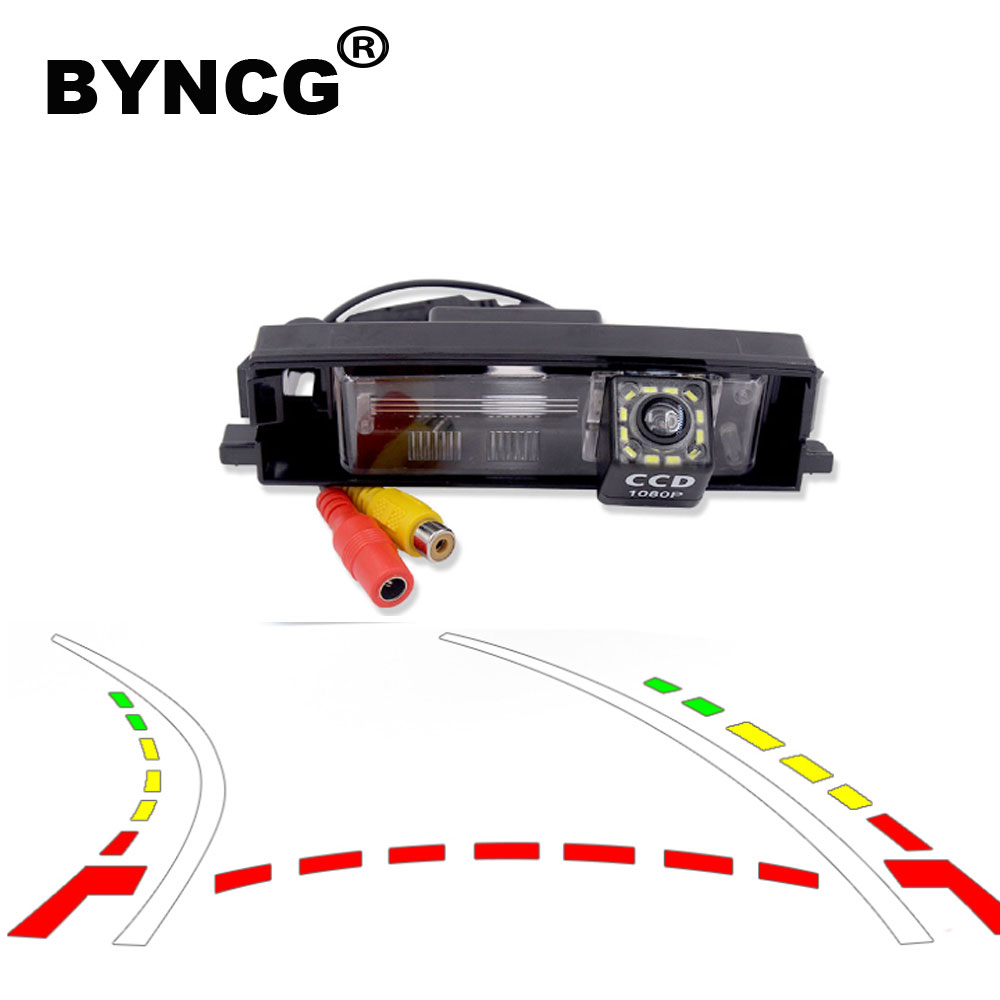 Intelligent Dynamic Trajectory Tracks Rear View Camera Backup Reverse Parking Camera For Toyota RAV4 RAV-4 2000-2012