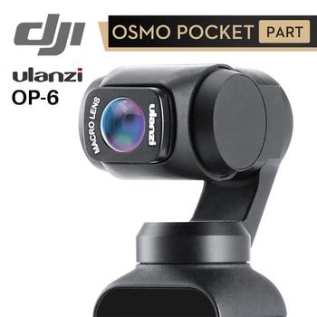 Ulanzi OP-5 OP-6 широкоугольный макрообъектив для Dji Osmo Pocket 10X HD 4K макрообъектив Gimbal аксессуары магнитные линзы