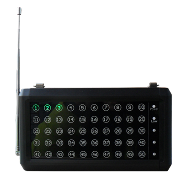 Wireless Call Waiter Paging System for Restaurant Service Or Coffee Bar P-50 wireless waiter call system top sales restaurant service 433 92mhz service bell for a restaurant ce 1 watch 10 call button