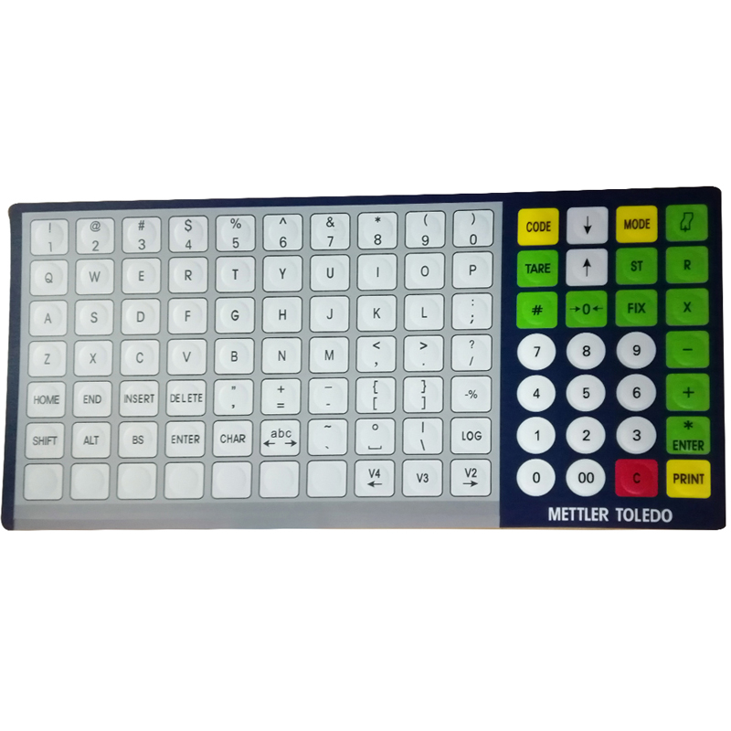 SEEBZ 10pcs New English keyboard enhanced version For Mettler Toledo BCOM