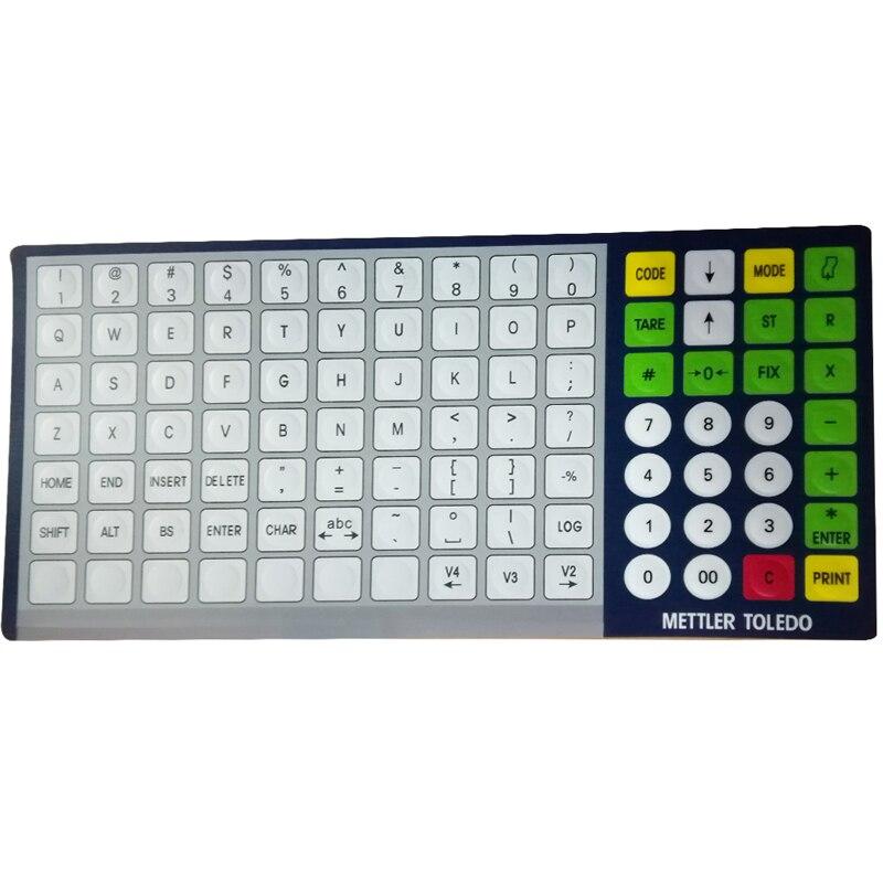 SEEBZ 10 pz Nuovo tastiera Inglese (versione avanzata) Per Mettler Toledo BCOM-in Parti per stampante da Computer e ufficio su  Gruppo 1