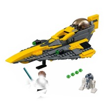 Star Wars Series Anakin Jedi Starfighter Compatible Legoing 75214 Buidling Blocks Bricks Educational Kid Toys цена в Москве и Питере