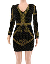 Women Sequin V-neck Slim Bodycon Mini Dress Long Sleeve Sexy Women Party Dress Club Outfit Skinny Dazzling Vestidos Sheath Dress long sleeve mini sheath dress