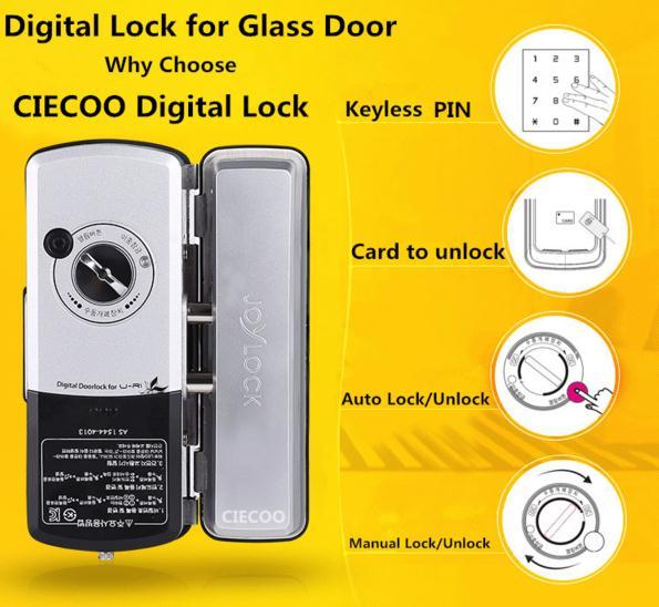 Digital inteligente lock cerraduras electrónicas con Tarjeta ...