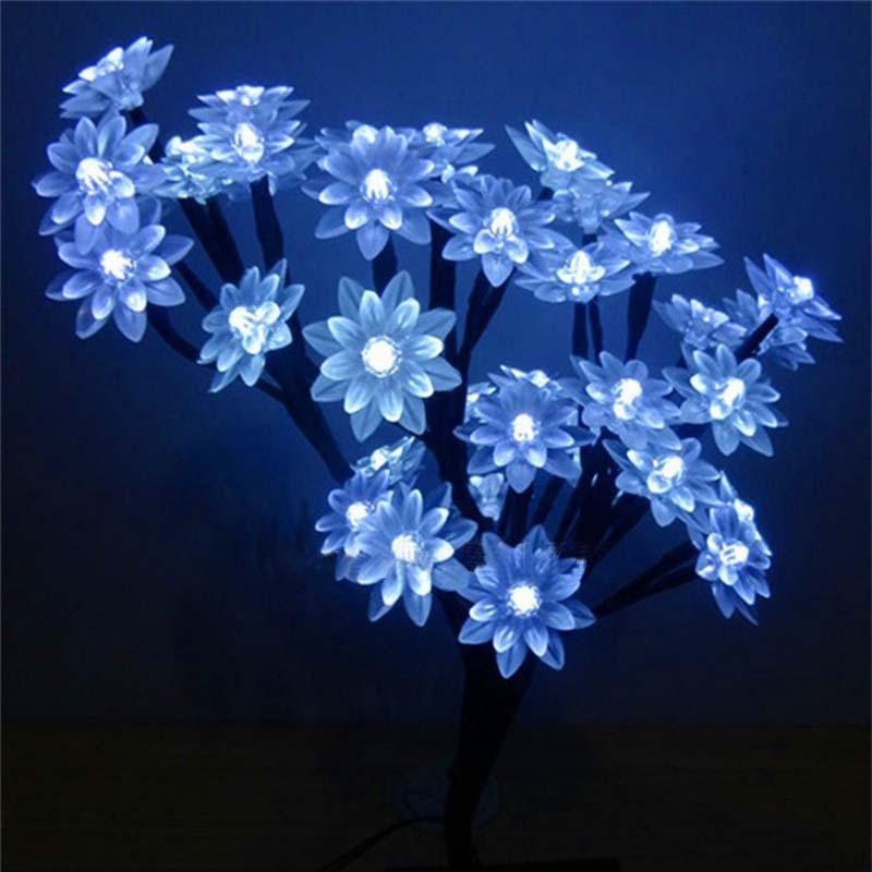 Led Interior Home Lights | Novo Led Flor De Cerejeira Luminaria Night Lights Desk Table Lamps