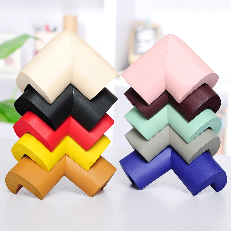 Kids Safety Protection Corner Cushion Household Anti-collision Pad Thicken Soft Table Corner Protective Case Safe Mat 10pcs/lot