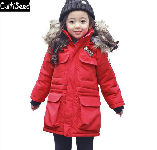 2017 Children's Winter Coat Clothes Girls Thicken Cotton Parkas Outerwear Coat with Hooded Kids Casual Warm Coats Clothes korean baby girls parkas 2017 winter children clothing thick outerwear casual coats kids clothes thicken cotton padded warm coat
