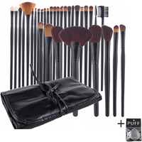 Agril Women S 32 Pcs Make Up Brush Set Professional Cosmetic Face Eye Styling Tools Powder
