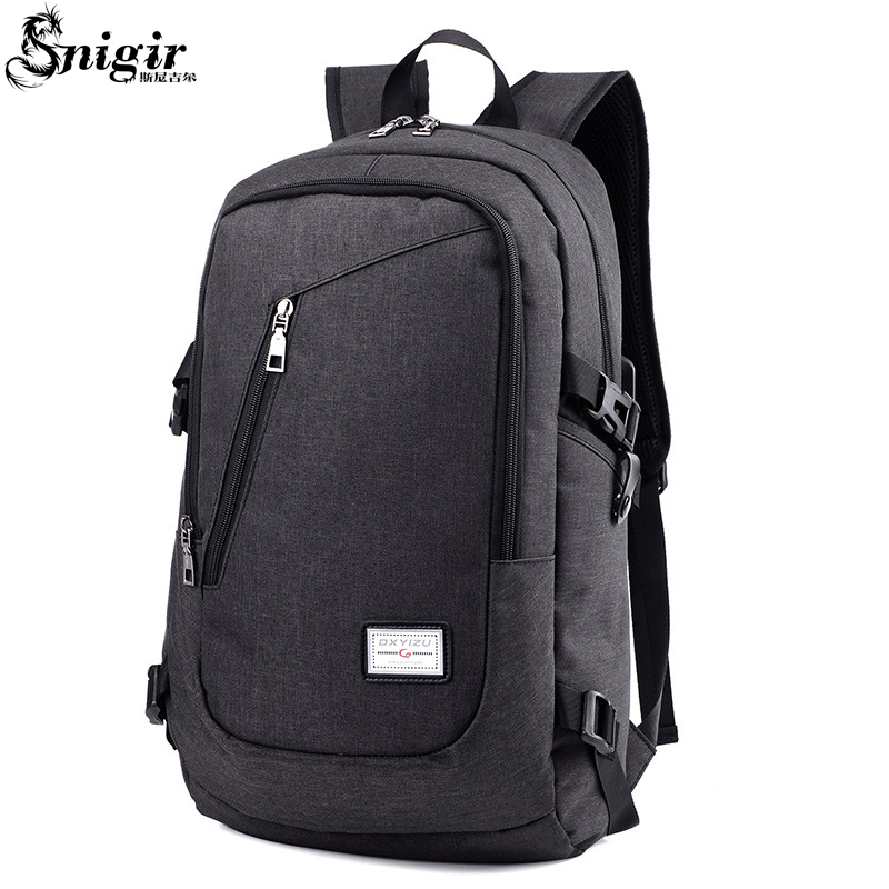 Snigir brand laptop bag pack 14 inch 15.6 Backpack unisex sleeve bobby backpack computer notebook bag laptop bags for women men brand 50l waterproof nylon backpack military unisex men s backpacks for laptop women notebook bag backpack 14 to17 inch