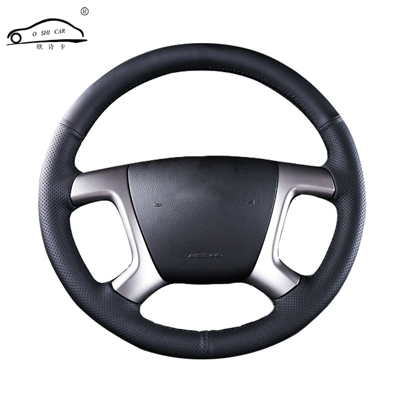 Artificial Leather car steering wheel braid for Chevrolet Captiva 2007-2014 Silverado GMC Sierra 2007/Custom made Steering cover
