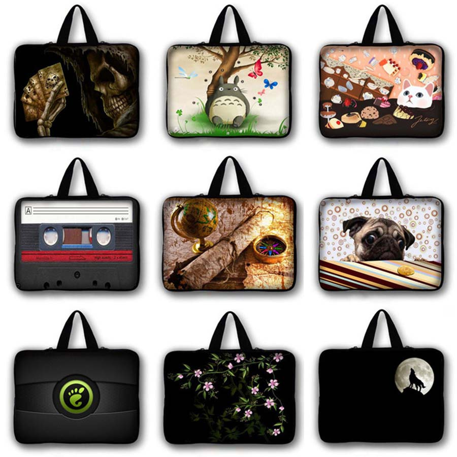 radio print 9 7 11 6 13 3 15 6 17 3 inch waterproof Notebook Sleeve Laptop bag 7 10 12 13 14 15 17 inch Ultrabook case LB 23963 in Laptop Bags Cases from Computer Office