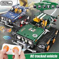 Pour LEGOing Technic Voiture APP télécommande cascadeur Racer suivi véhicule blocs ensemble fonction de puissance Technic Voiture de course jouet