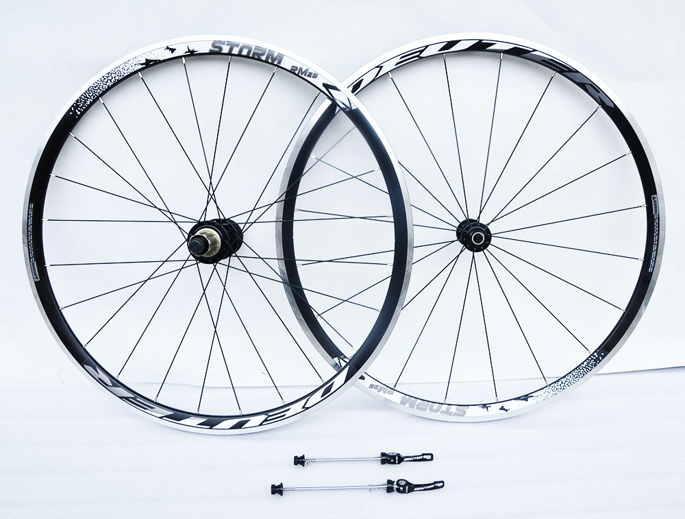 DEUTE High quality Racing bike wheel set light weight 20 hole 700c 120 clik road bike