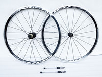 DEUTE High quality 700c Racing bike wheelset light weight 20 hole 120 clik road bike wheels