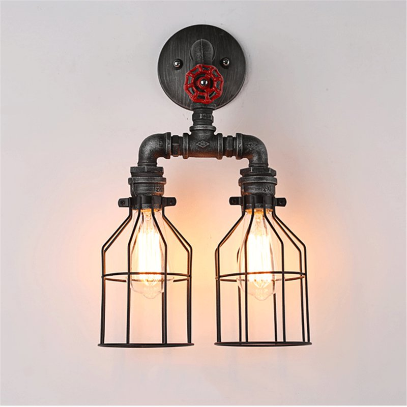Us 67 58 25 Off Vintage Sconce Lighting Wall Mounted Bedside Reading Light Creative Lamp Living Room Foyer Home Rustic In