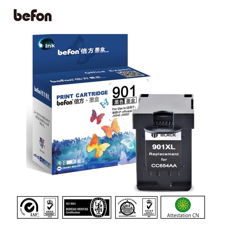 Befon Re-manufactured 901XL Cartridge Replacement For HP 901 Black Cartridge For Officejet 4500 J4500 J4540 J4550 J4580 J4640