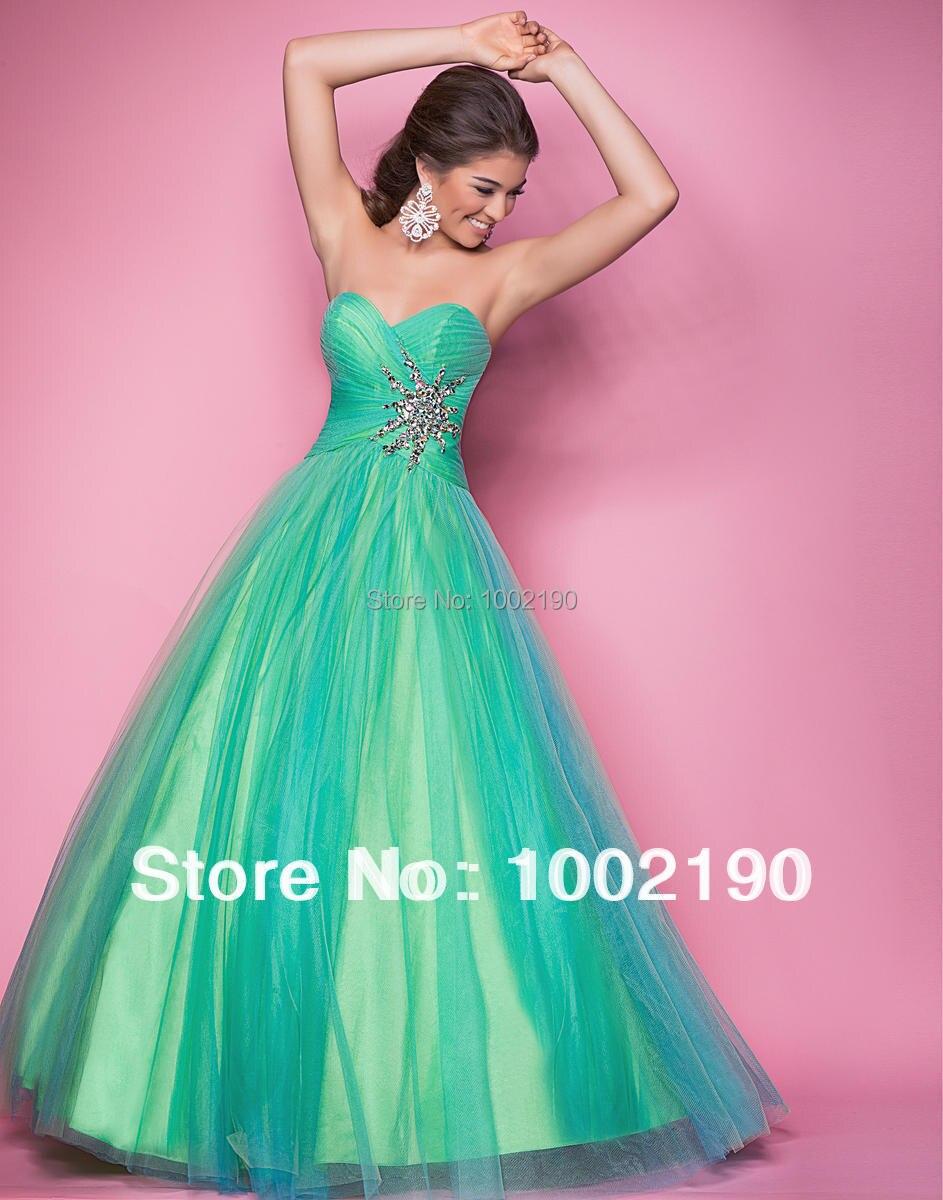 Hermosa Menta Verde Vestidos De Dama De Honor Ornamento - Colección ...
