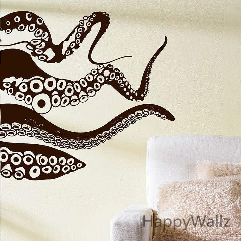 Aliexpress Octopus Wall Sticker Decals Decorative Modern Vinyl Art Diy Baby Nursery Removable Stickers M30 From