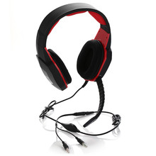 Headphone Gamer PC Stereo for computer phone tablet