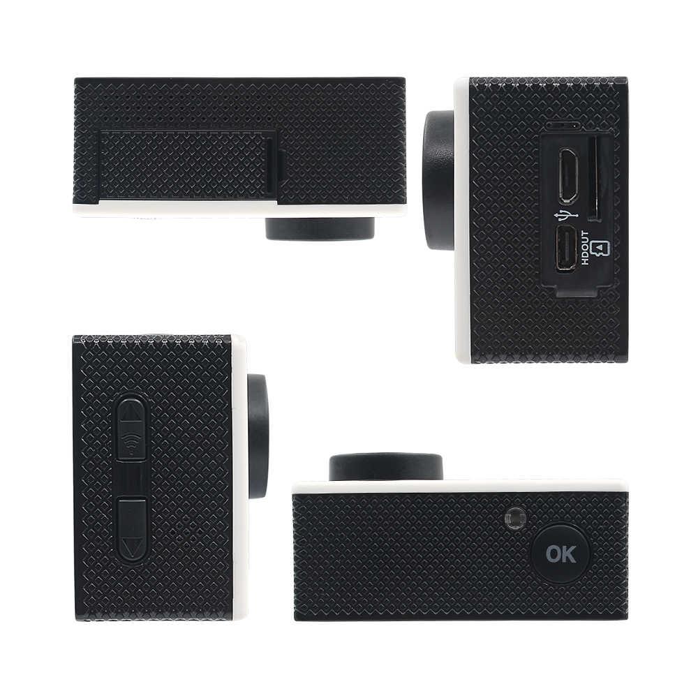 RUISVIN B6R экшн-камера Wifi Full HD 4 K 30fps 1080 p 60fps двойной экран Спортивная DV камера 16MP go Водонепроницаемая Pro с пультом дистанционного управления