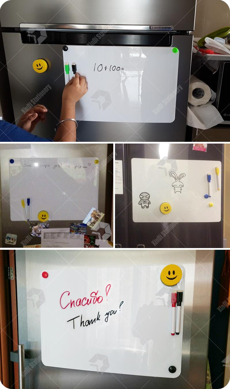 Гибкая белая доска для рисования водонепроницаемая магнитная