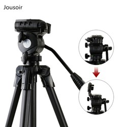 Aluminum Tripod 20~40Studio Stand max load 3kg For DSLR Camera Smart Phone Shooting Video  CD50