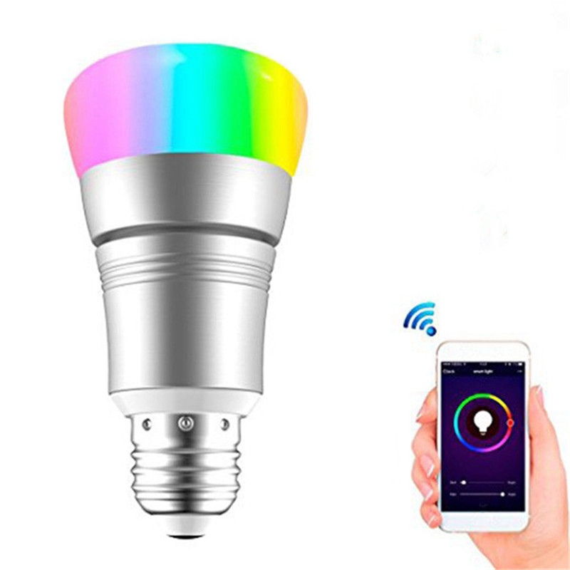 E27 Rgbw Wifi Timing App Controlled Led Smart Light Bulb