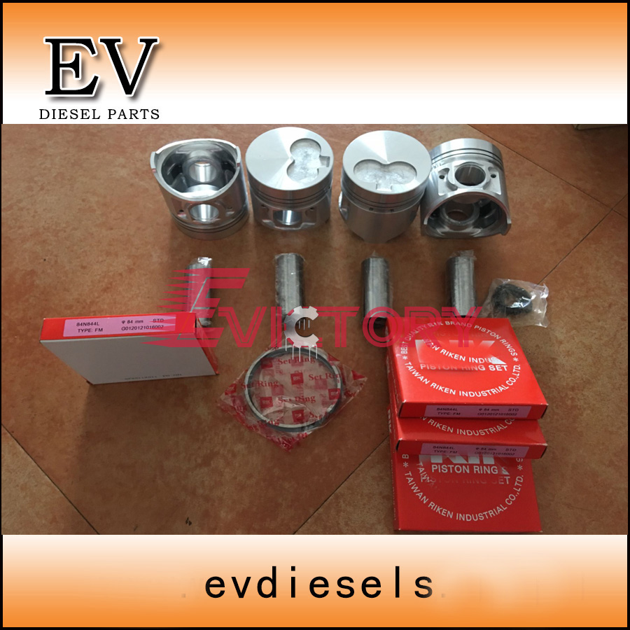 US $398 0 |For excavator engine SHIBAURA N844 N844T N844L piston and piston  ring set-in Pistons, Rings, Rods & Parts from Automobiles & Motorcycles on