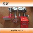 For excavator engine SHIBAURA N844 N844T N844L piston and piston ring set