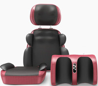 Multifunctional Full Body electric massage cushion Household Neck Waist Shoulder Back heating massage chair pad gift