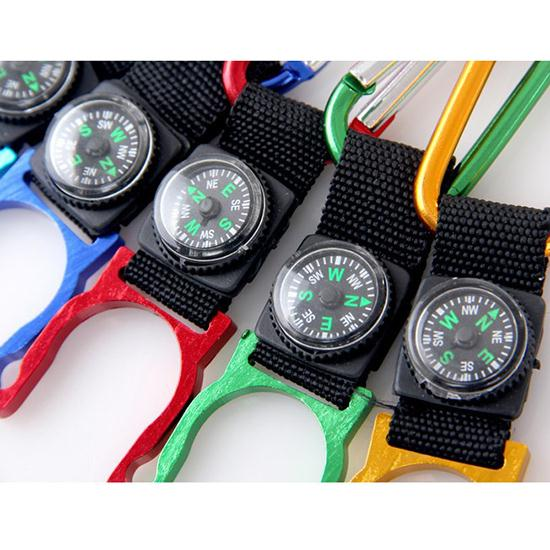 5 pcs /Lot Buckle compass color Random outdoors Camping high quality indispensable