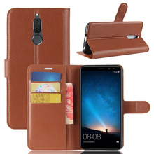ASTUBIA For Huawei Nova 2i Case Flip PU Leather Wallet ShockProof Phone Case For Huawei Mate