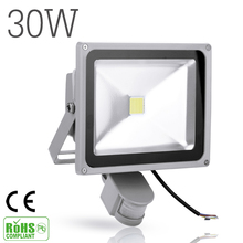 30W 2700LM LED Sensor Flood Light IP65 AC 85-265V Proyector Refletor Led Floodlight projecteur Led spotlight outdoor lighting