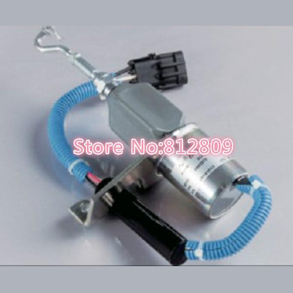 Fuel Shutdown Solenoid Valve 4942879 , 24V Free shipping